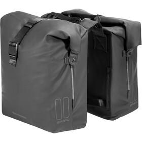 Basil SoHo Double Pannier Bag Nordlicht 41l, night black